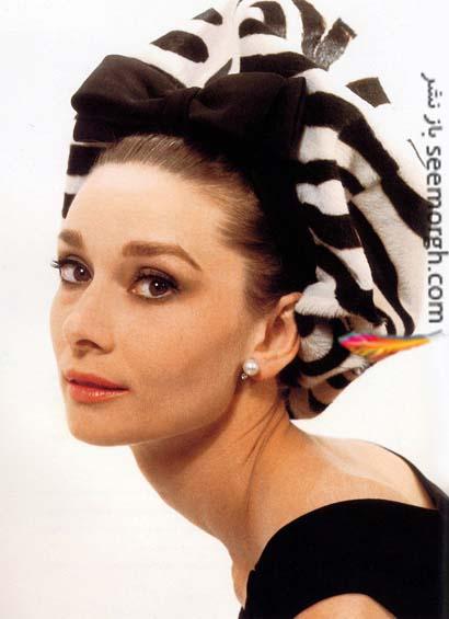 زیباترین عکس های آدری هپبورن Audrey Hepburn