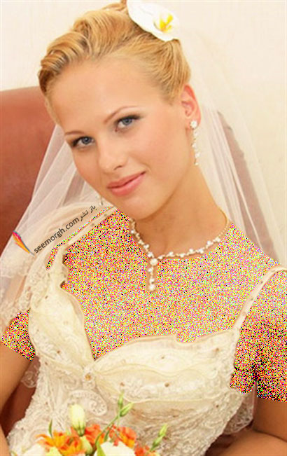 مدل موی عروس برای تابستان 2014 - مدل شماره 2