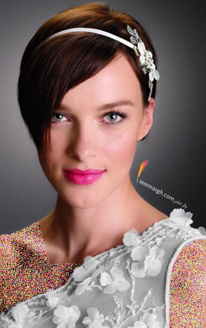 مدل موی عروس برای تابستان 2014 - مدل شماره 3