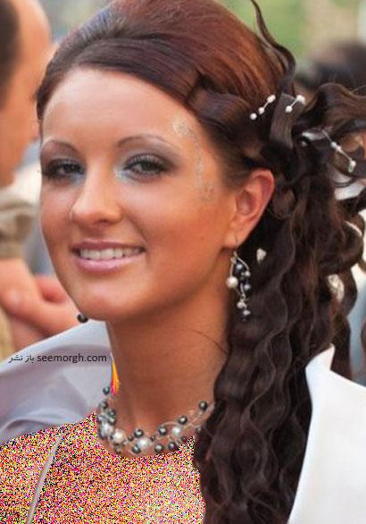 مدل موی عروس برای تابستان 2014 - مدل شماره 6