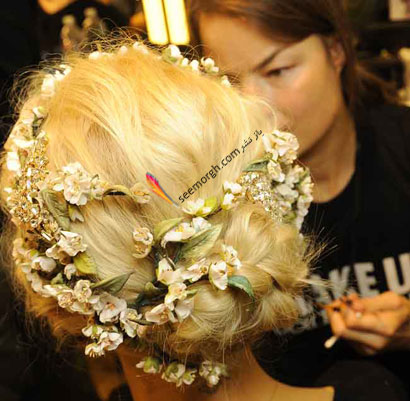 مدل موی عروس برای تابستان 2014 - مدل شماره 10