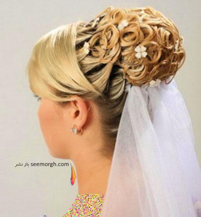 مدل موی عروس برای تابستان 2014 - مدل شماره 11
