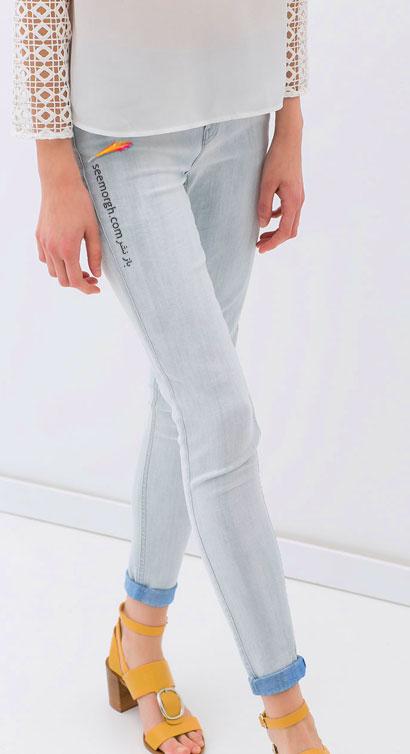 بیست مدل شلوار جین زنانه مارک زارا zara