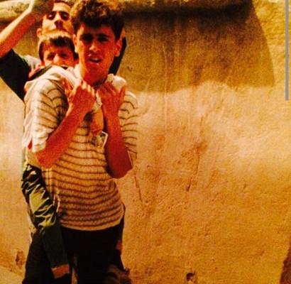 01000207 عکس علی کریمی در نوجوانی