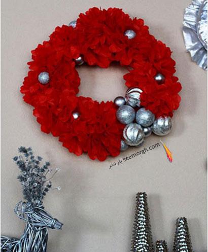 درکوبی با رنگهای تند برای کریسمس