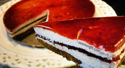 چیز کیک آلبالو - عکس شماره 2