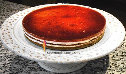 چیز کیک آلبالو - عکس شماره 1