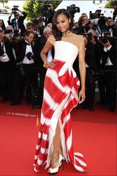 بهترین پوشش ها در مراسم های فرش قرمز 2011