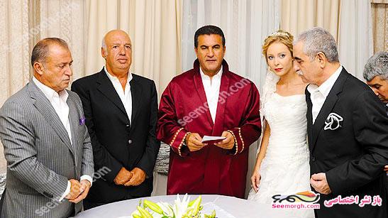 عکس مراسم ازدواج ابراهیم تاتلیس