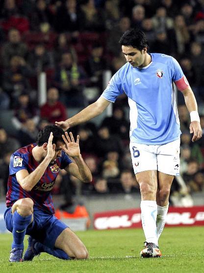 عکس کاپیتانی جواد نکونام مقابل بارسلونا www.tafrihi.com