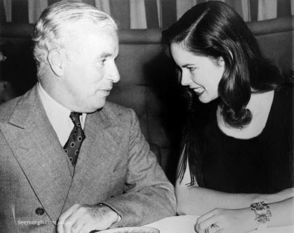 چارلی چاپلین و همسرش