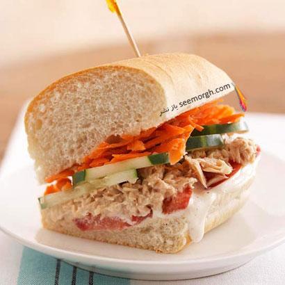 با این ساندویچ در روز مادر، از مادرتان پذیرایی کنید