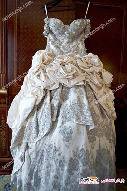 article 2061 634x839 جلب توجه لباس عروس گرانقیمت بازیگر امریکایی! + عکس