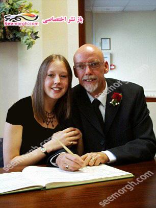 دختری که در 17سالگی عاشق یک مرد 50ساله شد و مخفیانه ازدواج کردند! + عکس