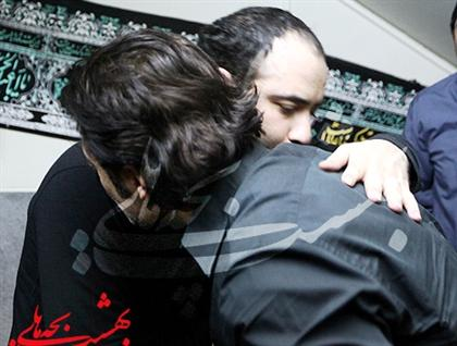 محمدرضا گلزار در شب پنجم محرم در مراسم عبدالرضا www.TAFRIHI.com