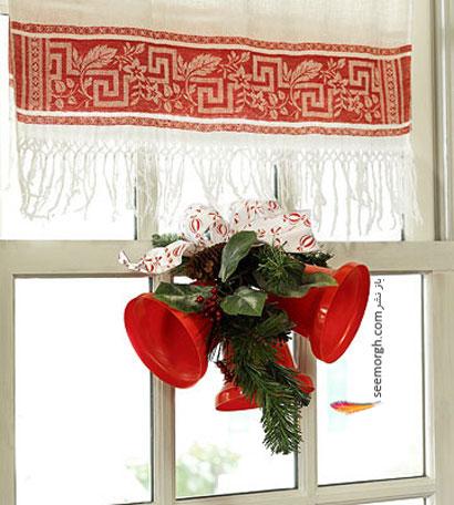 برای شروع زمستان و سال نو پنجره ها را اینطور آرایش کنید ! www.TAFRIHI.com سایت تفریحی