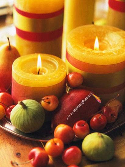 از ظروف مسی برای تزیین شب یلدا استفاده کنید