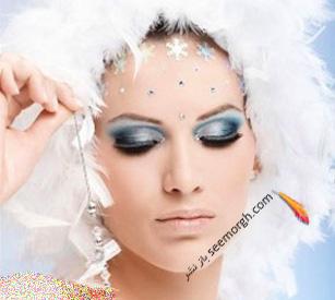 جدیدترین مدل آرایش زیبای چشم و ابرو 2017 ارایش چشم عروس نامزدی چشم زیبا سایت عروس شینیون 2017 نوروز 96