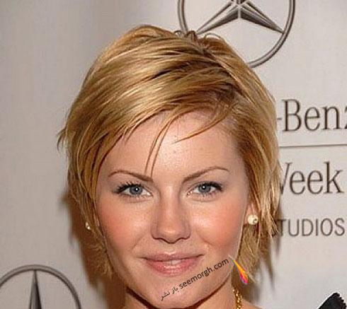 زیباترین مدل موی کوتاه برای صورت های گرد