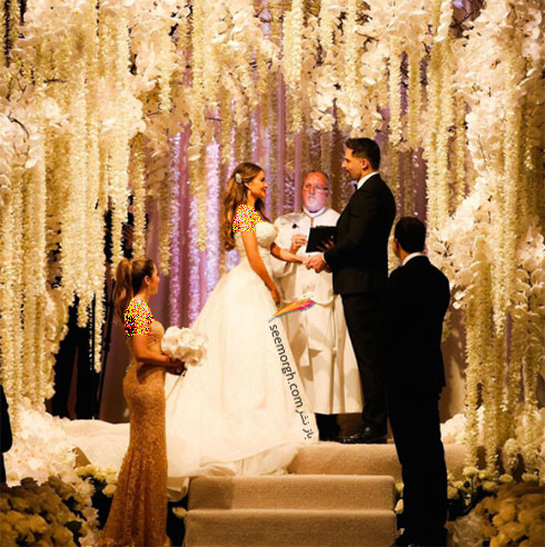 سالن عروسی سوفیا ورگارا Sofia Vergara