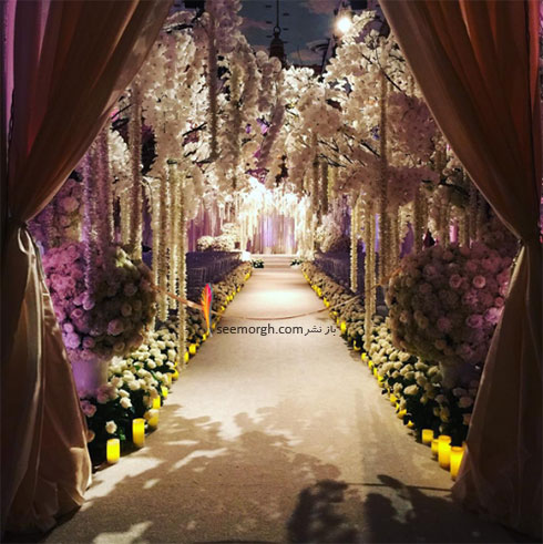 سالن زیبای عروسی سوفیا ورگارا Sofia Vergara