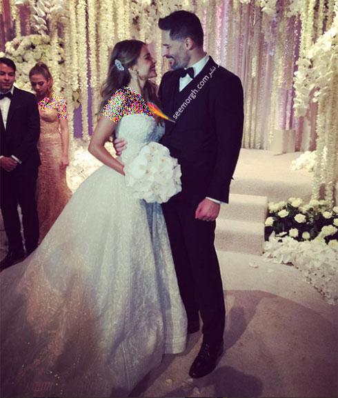 مراسم عروسی زیبای سوفیا ورگارا Sofia Vergara