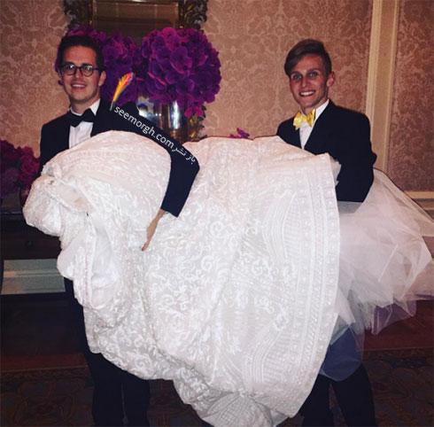 لباس عروسی زیبای سوفیا ورگارا Sofia Vergara