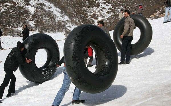 تصاویر بسیار جالب از یک فستیوال زمستانی!! www.TAFRIHI.com
