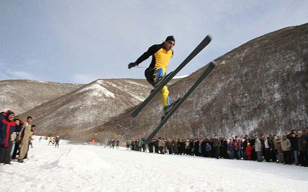 تصاویر بسیار جالب از یک فستیوال زمستانی!!