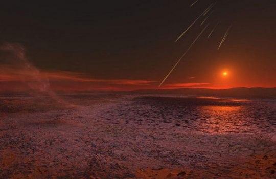 تصاویر جالب غروب خورشید در مریخ