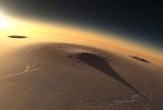 تصاویر جالب غروب خورشید در مریخ www.TAFRIHI.com