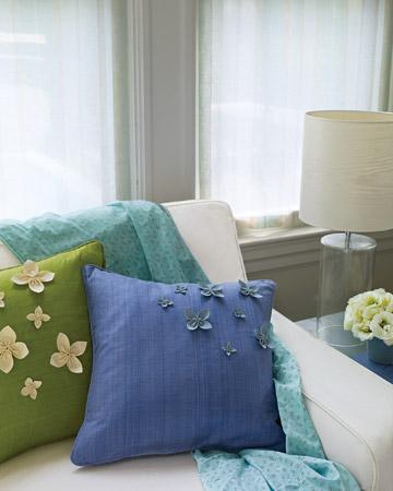 زیباترین و جدیدترین مدلهای کوسن,کوسن با گل های برجسته
