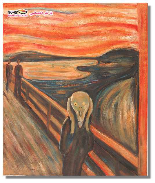تابلوی جیغ اثر ادوارد مونش