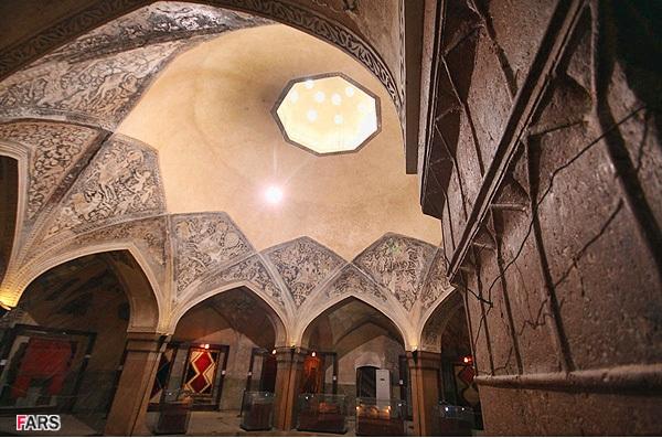 سقف حمام وکیل شیراز
