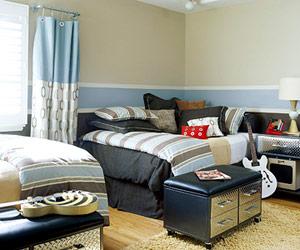 دکوراسیون اتاق خواب برای پسر بچه ها,دکوراسیون اتاق خواب با ایده هایی جالب و چشم نواز مخصوص سنین 7 تا 15 سال,دکوراسیون اتاق خواب مخصوص سنین 7 تا 15 سال