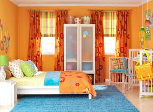 دکوراسیون رویایی برای یک اتاق خواب نارنجی,دکوراسیون اتاق خواب با ایده هایی جالب و چشم نواز مخصوص سنین 7 تا 15 سال,دکوراسیون اتاق خواب مخصوص سنین 7 تا 15 سال