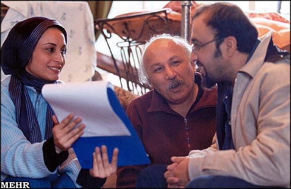 رضا عطاران پشت صحنه هوو