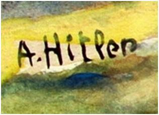 امضای جعلی هیتلر