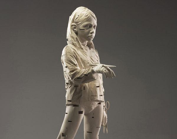 مجسمه های سبک فوتوریست اثر  Gehard Demetz