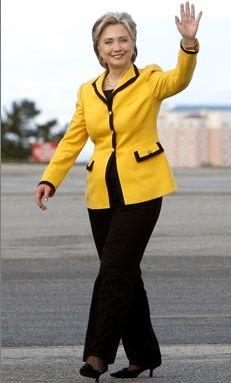 مدل مانتو با آستین پفی پوشیدن لباس رسمی به سبک هیلاری کلینتون ! - صفحه 2