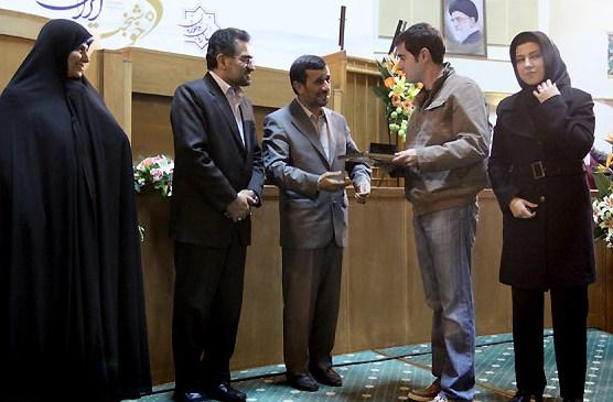 شهاب حسینی و احمدی نژاد2