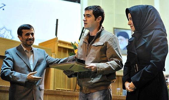 شهاب حسینی و احمدی نژاد