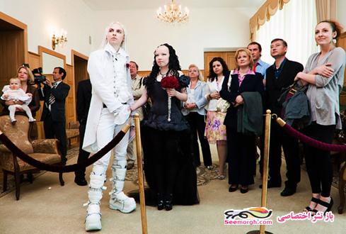 عکس عروسی شیطان پرست ها