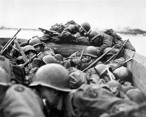 سربازان جنگ جهانی دوم