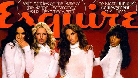 عکس لیما روی جلد اول مجله Esquire