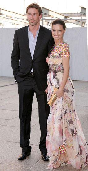 آدریانا لیما و همسرش