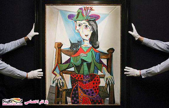 نقاشی دورا مار معشوقه پیکاسو