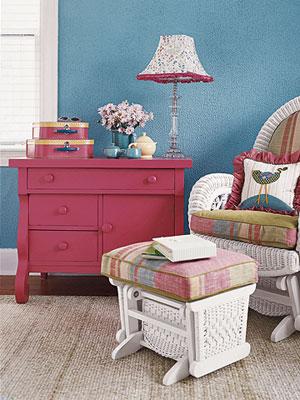 نمونه چیدمان بسیار زیبا برای اتاق کودک!