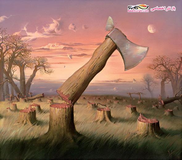 نقاشیهای سورئالیست