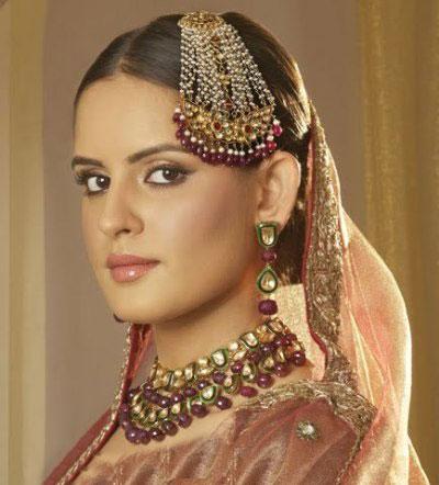 عکس   زیباترین آرایش و میکاپهای هندی